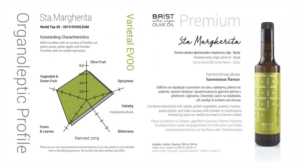 02 Sta Margherita - Orgaanoleptics and Pairings H2019